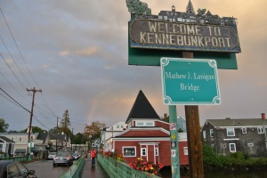 Crossing into Kennebunkport