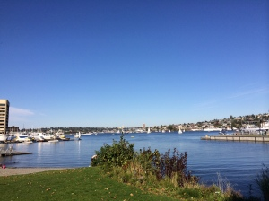 73 degrees October 2013 Lake Union Seattle